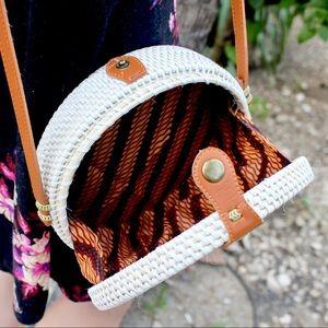 Handbags - Authentic Woven Circle Bali Hand Bag